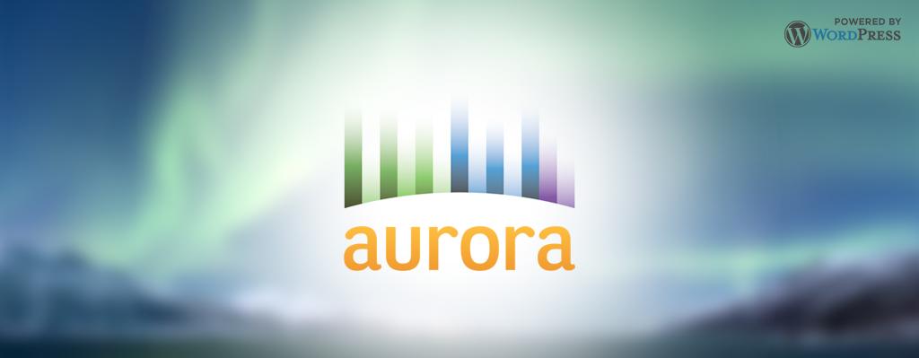 Aurora: Powered by WordPress